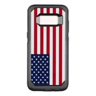 Capa OtterBox Commuter Para Samsung Galaxy S8 Bandeira americana