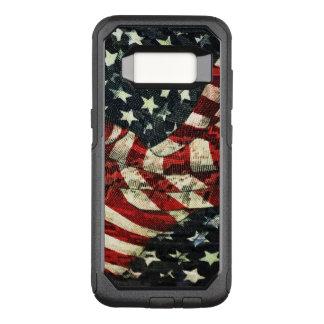 Capa OtterBox Commuter Para Samsung Galaxy S8 Bandeira-Camuflagem americana por Shirley Taylor