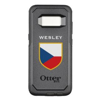 Capa OtterBox Commuter Para Samsung Galaxy S8 Bandeira checa personalizada