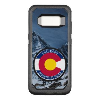 Capa OtterBox Commuter Para Samsung Galaxy S8 Bandeira da circular de Colorado