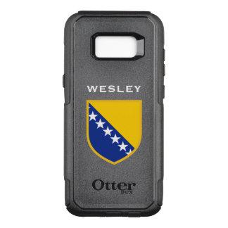 Capa OtterBox Commuter Para Samsung Galaxy S8+ Bandeira de Bósnia - de Herzegovina