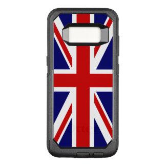 Capa OtterBox Commuter Para Samsung Galaxy S8 Bandeira de Union Jack do Reino Unido