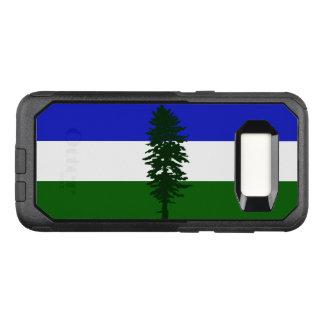 Capa OtterBox Commuter Para Samsung Galaxy S8 Bandeira do caso de Cascadia Samsung OtterBox