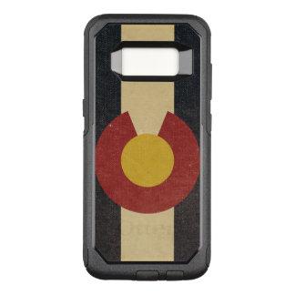 Capa OtterBox Commuter Para Samsung Galaxy S8 Bandeira do estado de Colorado do vintage