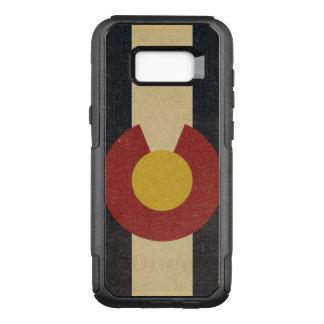 Capa OtterBox Commuter Para Samsung Galaxy S8+ Bandeira do estado de Colorado do vintage