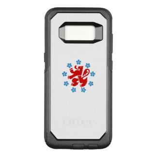 Capa OtterBox Commuter Para Samsung Galaxy S8 Bandeira do exemplo alemão de Samsung Otterbox da