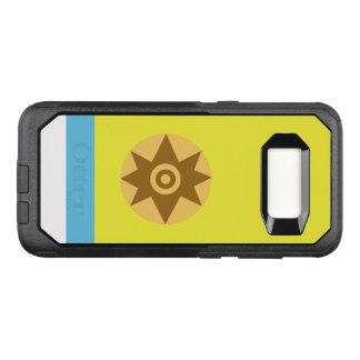 Capa OtterBox Commuter Para Samsung Galaxy S8 Bandeira do exemplo canarino de Samsung OtterBox