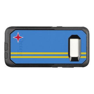 Capa OtterBox Commuter Para Samsung Galaxy S8 Bandeira do exemplo de Aruba Samsung OtterBox