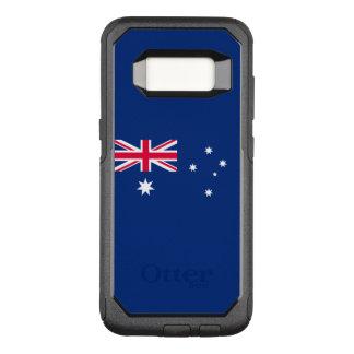 Capa OtterBox Commuter Para Samsung Galaxy S8 Bandeira do exemplo de Austrália Samsung OtterBox