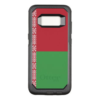 Capa OtterBox Commuter Para Samsung Galaxy S8 Bandeira do exemplo de Belarus Samsung OtterBox