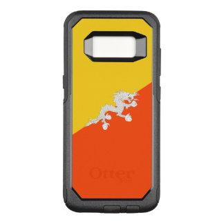 Capa OtterBox Commuter Para Samsung Galaxy S8 Bandeira do exemplo de Bhutan Samsung OtterBox