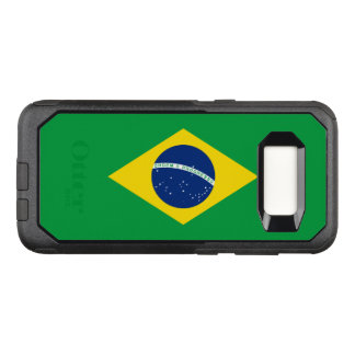Capa OtterBox Commuter Para Samsung Galaxy S8 Bandeira do exemplo de Brasil Samsung OtterBox