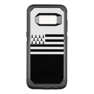 Capa OtterBox Commuter Para Samsung Galaxy S8 Bandeira do exemplo de Brittany Samsung OtterBox