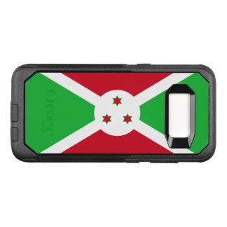 Capa OtterBox Commuter Para Samsung Galaxy S8 Bandeira do exemplo de Burundi Samsung OtterBox