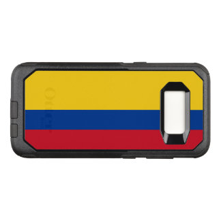 Capa OtterBox Commuter Para Samsung Galaxy S8 Bandeira do exemplo de Colômbia Samsung OtterBox