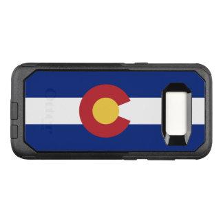 Capa OtterBox Commuter Para Samsung Galaxy S8 Bandeira do exemplo de Colorado Samsung OtterBox