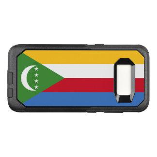 Capa OtterBox Commuter Para Samsung Galaxy S8 Bandeira do exemplo de Cômoros Samsung OtterBox