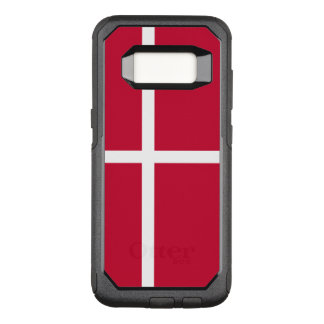 Capa OtterBox Commuter Para Samsung Galaxy S8 Bandeira do exemplo de Dinamarca Samsung OtterBox