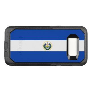 Capa OtterBox Commuter Para Samsung Galaxy S8 Bandeira do exemplo de El Salvador Samsung