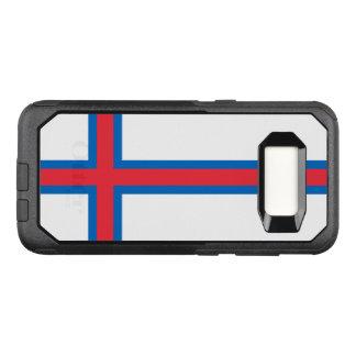 Capa OtterBox Commuter Para Samsung Galaxy S8 Bandeira do exemplo de Faroe Island Samsung