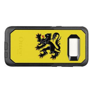 Capa OtterBox Commuter Para Samsung Galaxy S8 Bandeira do exemplo de Flanders Samsung OtterBox