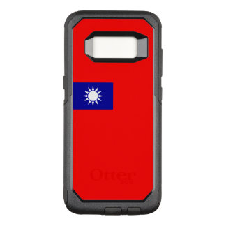 Capa OtterBox Commuter Para Samsung Galaxy S8 Bandeira do exemplo de Formosa (ROC) Samsung