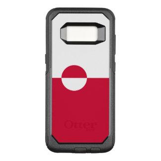 Capa OtterBox Commuter Para Samsung Galaxy S8 Bandeira do exemplo de Greenland Samsung OtterBox