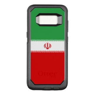 Capa OtterBox Commuter Para Samsung Galaxy S8 Bandeira do exemplo de Irã Samsung OtterBox