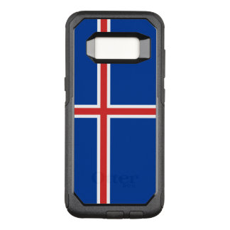 Capa OtterBox Commuter Para Samsung Galaxy S8 Bandeira do exemplo de Islândia Samsung OtterBox