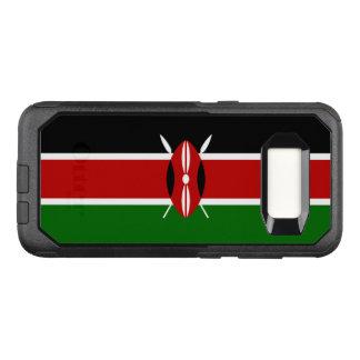 Capa OtterBox Commuter Para Samsung Galaxy S8 Bandeira do exemplo de Kenya Samsung OtterBox