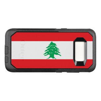 Capa OtterBox Commuter Para Samsung Galaxy S8 Bandeira do exemplo de Líbano Samsung OtterBox