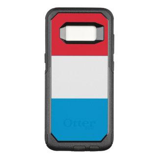 Capa OtterBox Commuter Para Samsung Galaxy S8 Bandeira do exemplo de Luxembourg Samsung OtterBox