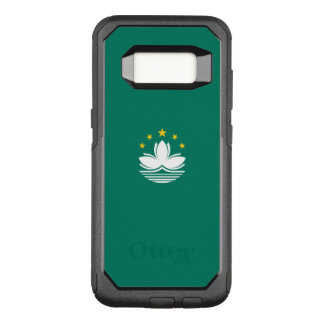 Capa OtterBox Commuter Para Samsung Galaxy S8 Bandeira do exemplo de Macau Samsung OtterBox