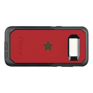 Capa OtterBox Commuter Para Samsung Galaxy S8 Bandeira do exemplo de Marrocos Samsung OtterBox