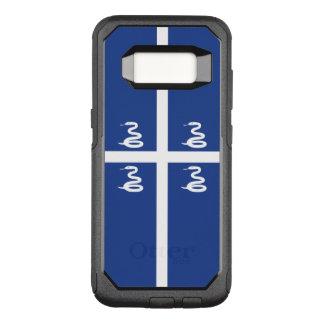 Capa OtterBox Commuter Para Samsung Galaxy S8 Bandeira do exemplo de Martinica Samsung OtterBox