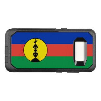 Capa OtterBox Commuter Para Samsung Galaxy S8 Bandeira do exemplo de Nova Caledônia Samsung