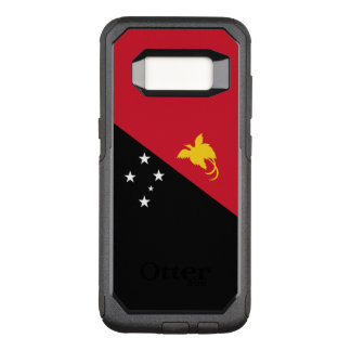 Capa OtterBox Commuter Para Samsung Galaxy S8 Bandeira do exemplo de Papuá-Nova Guiné Samsung