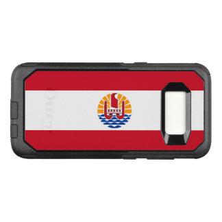 Capa OtterBox Commuter Para Samsung Galaxy S8 Bandeira do exemplo de Polinésia francesa Samsung