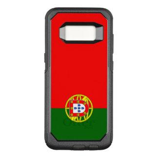 Capa OtterBox Commuter Para Samsung Galaxy S8 Bandeira do exemplo de Portugal Samsung OtterBox