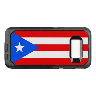 Capa OtterBox Commuter Para Samsung Galaxy S8 Bandeira do exemplo de Puerto Rico Samsung