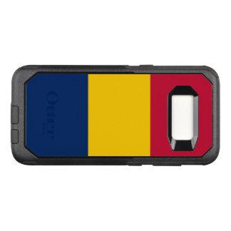 Capa OtterBox Commuter Para Samsung Galaxy S8 Bandeira do exemplo de República do Tchad Samsung