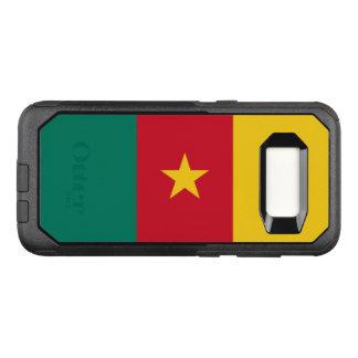 Capa OtterBox Commuter Para Samsung Galaxy S8 Bandeira do exemplo de República dos Camarões