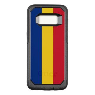 Capa OtterBox Commuter Para Samsung Galaxy S8 Bandeira do exemplo de Romania Samsung OtterBox