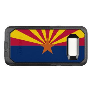 Capa OtterBox Commuter Para Samsung Galaxy S8 Bandeira do exemplo de Samsung OtterBox da arizona