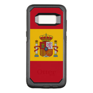 Capa OtterBox Commuter Para Samsung Galaxy S8 Bandeira do exemplo de Samsung OtterBox da espanha