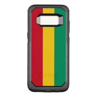 Capa OtterBox Commuter Para Samsung Galaxy S8 Bandeira do exemplo de Samsung OtterBox da Guiné