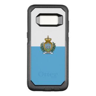 Capa OtterBox Commuter Para Samsung Galaxy S8 Bandeira do exemplo de San Marino Samsung OtterBox