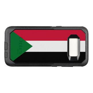 Capa OtterBox Commuter Para Samsung Galaxy S8 Bandeira do exemplo de Sudão Samsung OtterBox