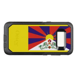 Capa OtterBox Commuter Para Samsung Galaxy S8 Bandeira do exemplo de Tibet Samsung OtterBox