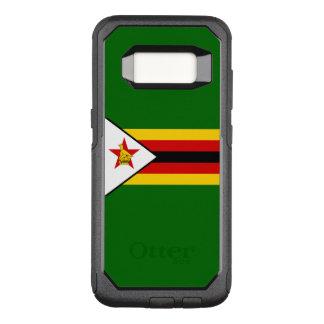 Capa OtterBox Commuter Para Samsung Galaxy S8 Bandeira do exemplo de Zimbabwe Samsung OtterBox